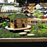 渋谷LOFTのVP苔庭